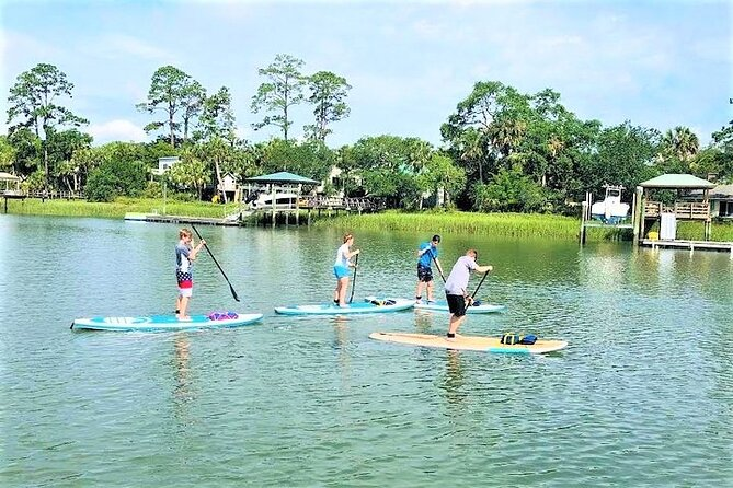Hilton Head Guided Stand Up Paddleboard Tour