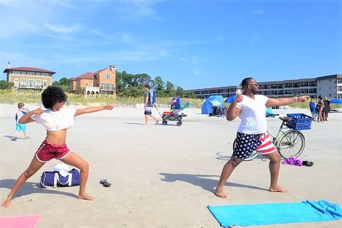 1-Hour Hilton Head Beginner Kundalini Yoga Class on the Beach
