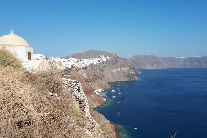 Santorini Caldera Rim Walking Trail