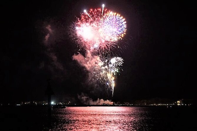 Hilton Head Dolphin Watching Cruise with Fireworks Display