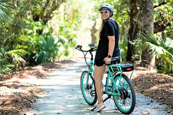 Hilton Head Guided Pedego Electric Bike Tour