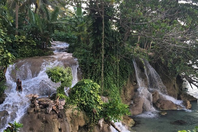 Little Dunns Falls + Blue Hole from Negril + Palladium