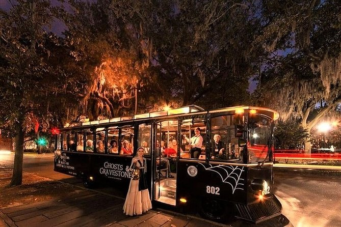 Savannah Ghosts & Gravestones Trolley Tour