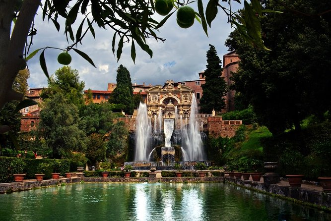 Shore Excursion to Tivoli and its Villas