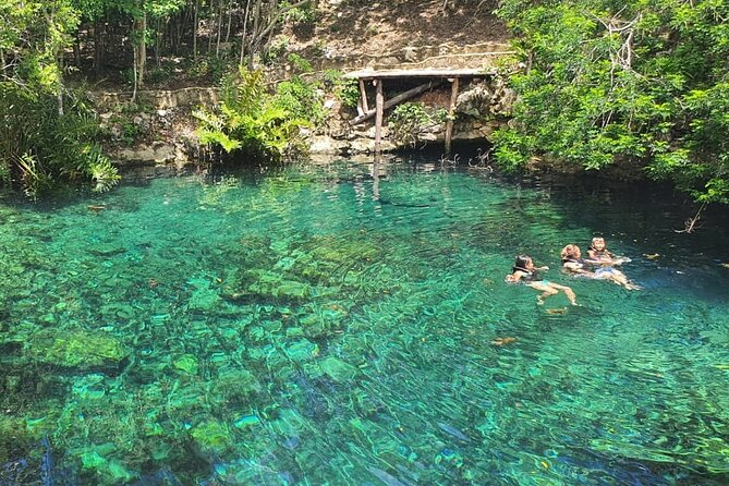 Maya Village and Cenote on Private Tour