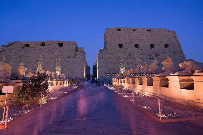 Sound and Light Show at Karnak Temple with Transfers