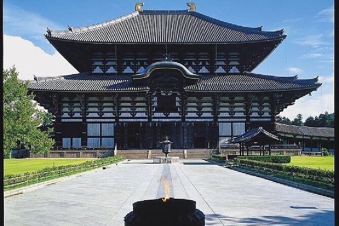 Kyoto and Nara 1 Day Trip - Golden Pavilion and Todai-ji Temple from Kyoto