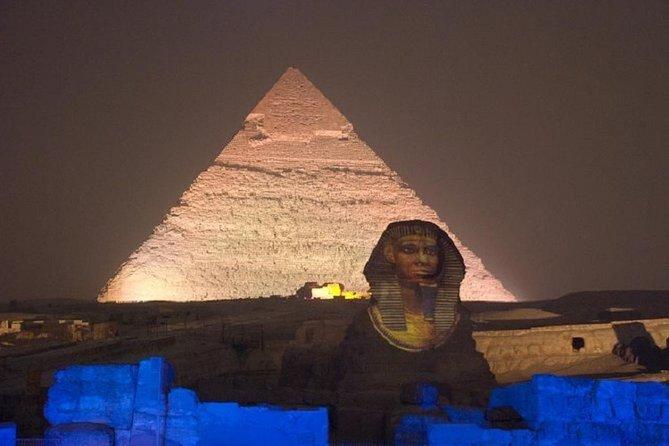 Sound and Light Show at Giza Pyramids- Private Transfer