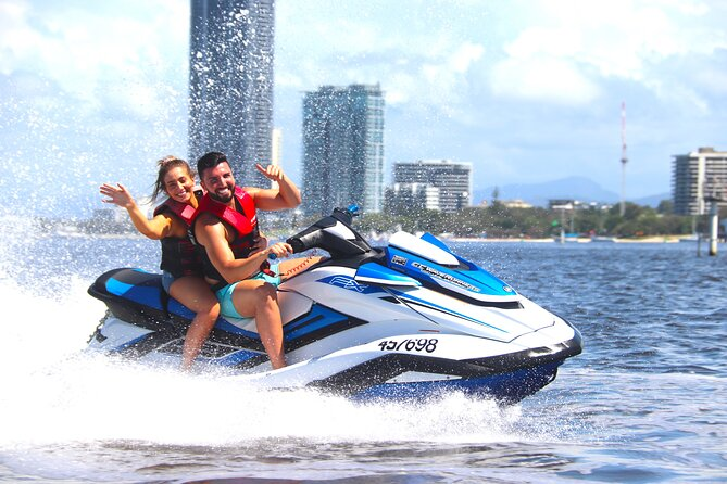 2hr Jet Ski Tour on the Gold Coast - NO LICENCE NEEDED. NON STOP JETSKIING