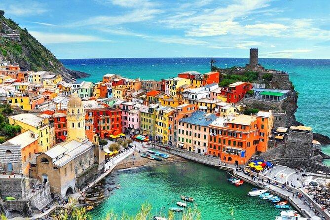 Cinque Terre Private Tour by Minivan and Ferry-Boat from La Spezia