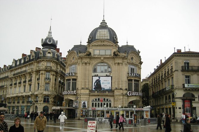 Private 4-hour City Tour of Montpellier with Hotel pick-up and drop off