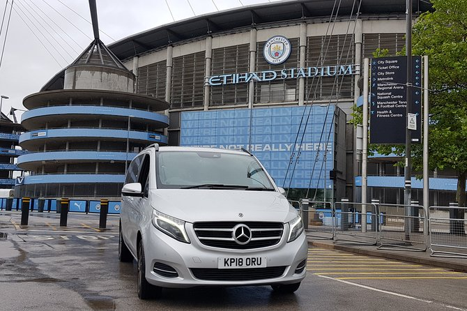 Private Transfer from Manchester Airport to Blackpool City