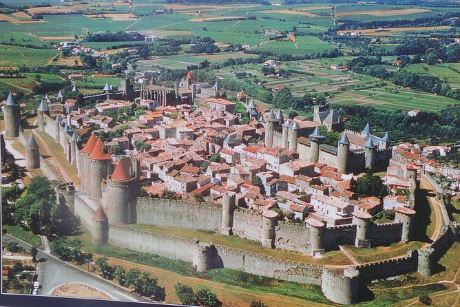Private 4-hour City Tour of Carcassonne with driver/guide and Hotel pick-up