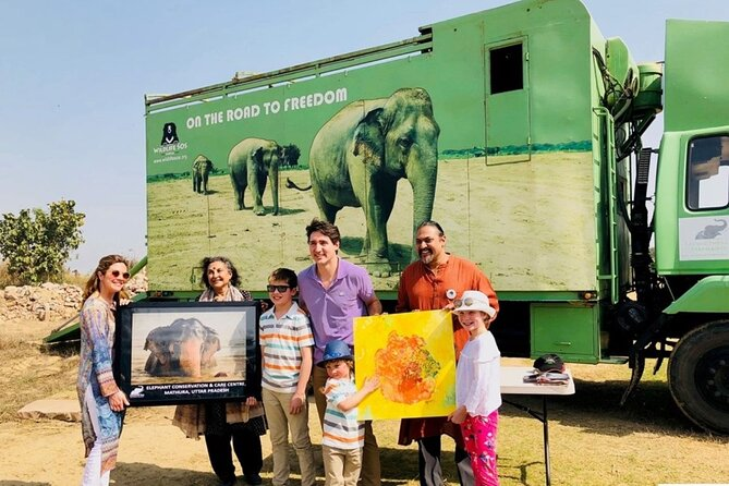 Private Transfer from Delhi to Agra with Wildlife SOS Tour