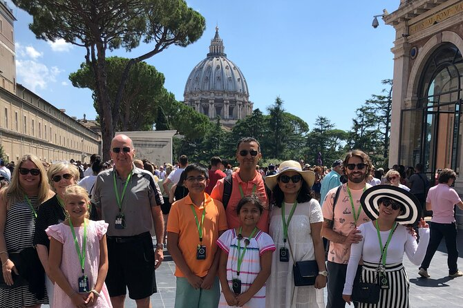 Kids Tour of Vatican Sistine Chapel St.Peter's Basilica w Pick up