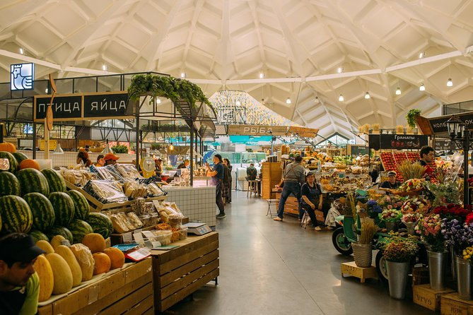 Moscow Foodie Tour at the Local Market