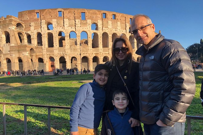 Kids Tour of the Colosseum Roman Forum & Palatine Hill w Pick up