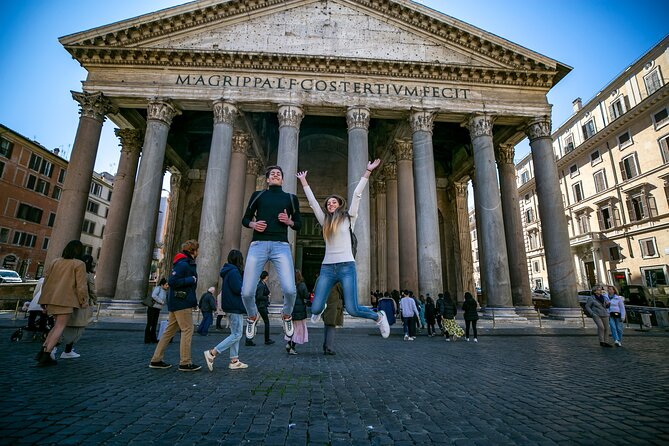Skip the line Colosseum, Trevi Fountain and City Highlights including Pantheon