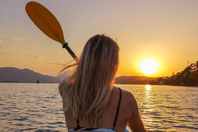 Magical Sunset Kayaking in Poros