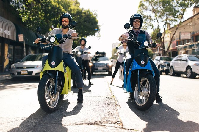 Monterey Half-Day Electric Scooter Rental
