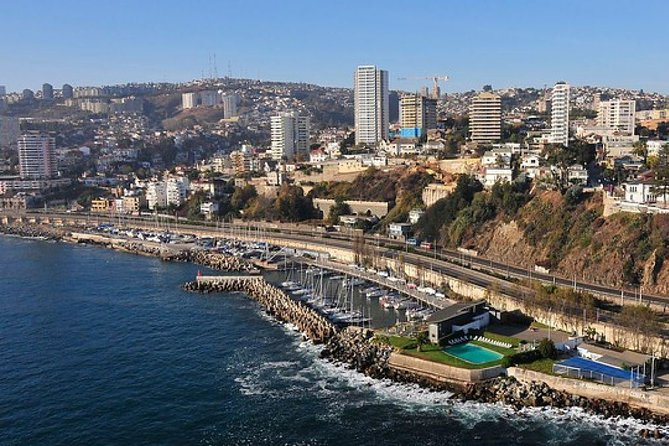 Viña del Mar & Valparaiso Private City Tour from Santiago