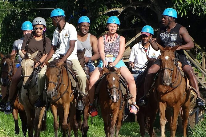 Taino Bay Shore Excursion: 8 Hands Free Zip Lines & Horseback Ride