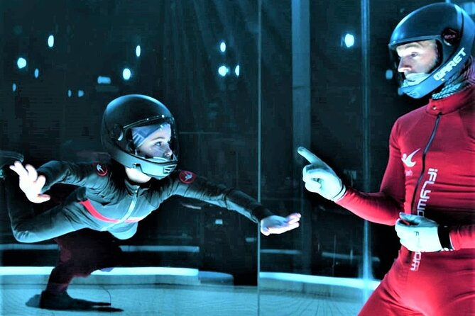 Atlanta Indoor Skydiving Experience with 2 Flights & Personalized Certificate