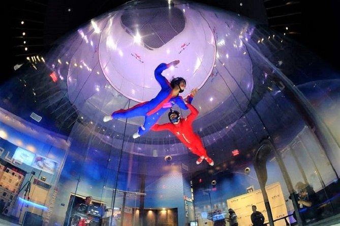 Seattle Indoor Skydiving Experience with 2 Flights & Personalized Certificate