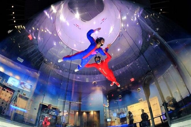 San Diego Indoor Skydiving Experience with 2 Flights & Personalized Certificate