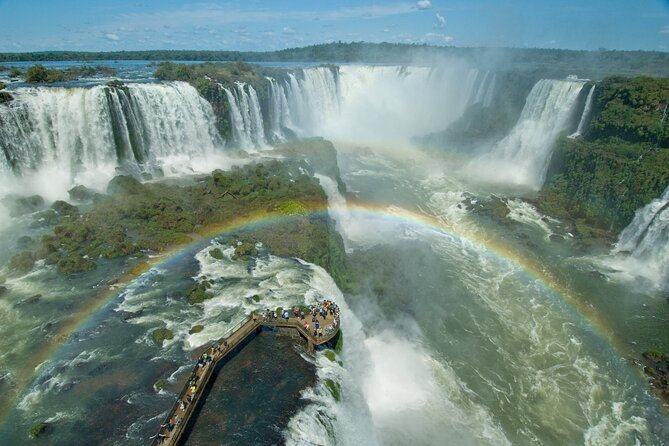 Brazilian Falls With Bird Park