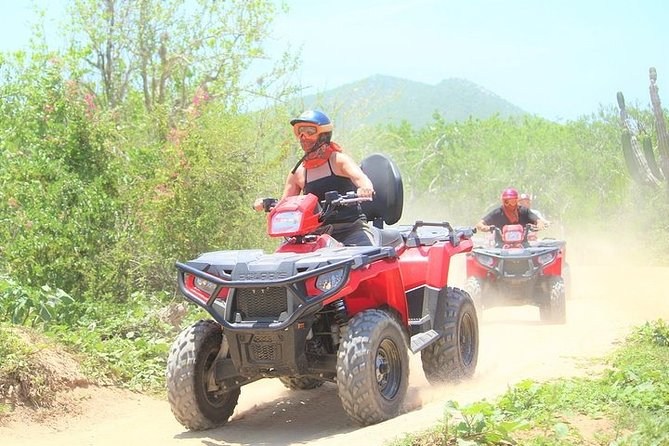 Single or Double 570cc ATV Beach and Desert Adventure from Cabo San Lucas