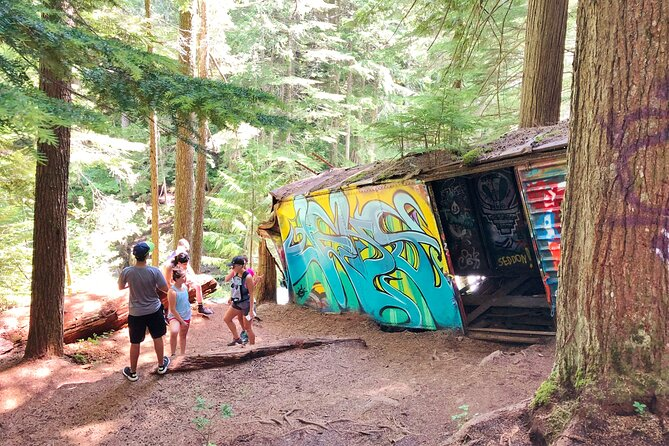 Whistler Train Wreck & Suspension Bridge Forest Walk