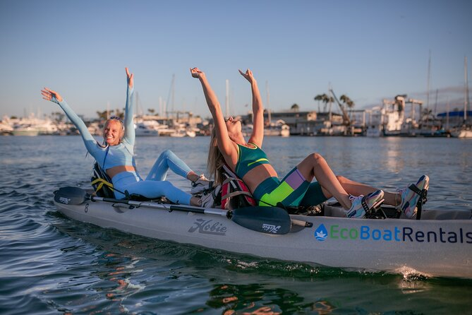 Hobie Pedal Double Kayak for Rent in San Diego Bay