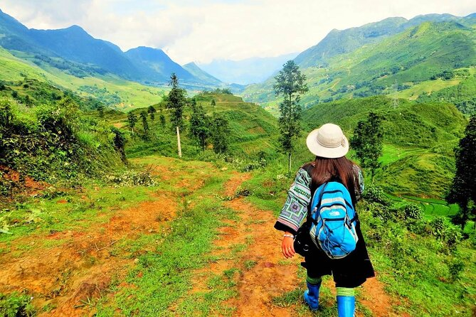 4 days trekking through the Hoang Lien National Park to Ban Ho valley
