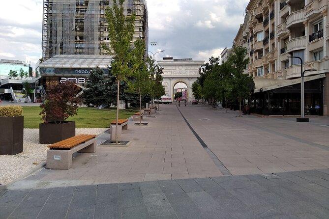 Walking In Skopje