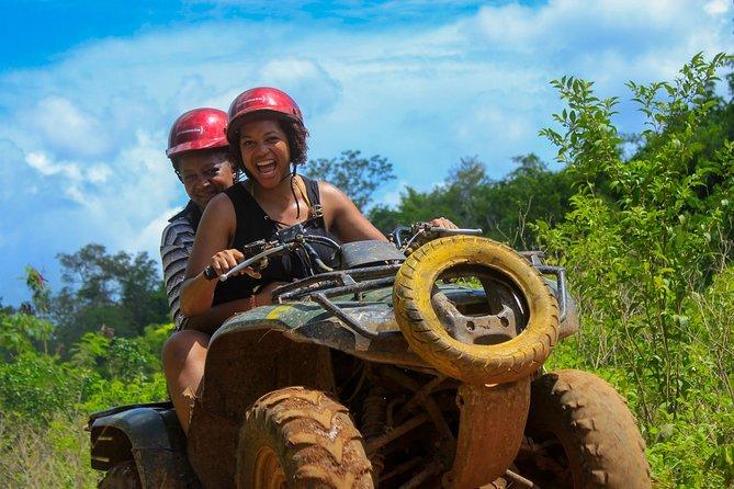 ATV Adventure plus Ziplines and Cenote from Puerto Morelos & Playa del Carmen