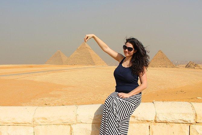 Sakkara Pyramids, Dahshur Pyramids, Giza Pyramids and Sphinx Included Camel Ride
