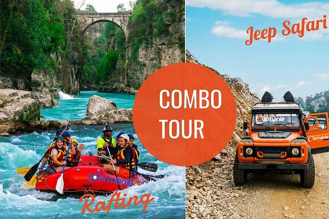 Rafting & Jeep Safari Adventure from Kemer