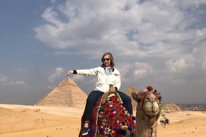 Full-Day Tour to Giza Pyramids, Sphinx, Memphis and Saqqara from Cairo