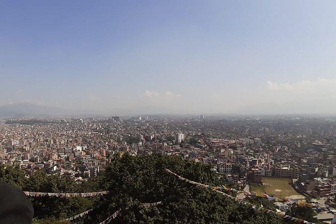 Half Day Swayambhunath and Baudhanath Stupa tour from Kathmandu