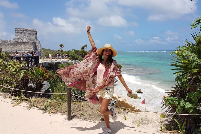 A full day visiting Tulum, Coba, Cenote and Playa del Carmen for the best price