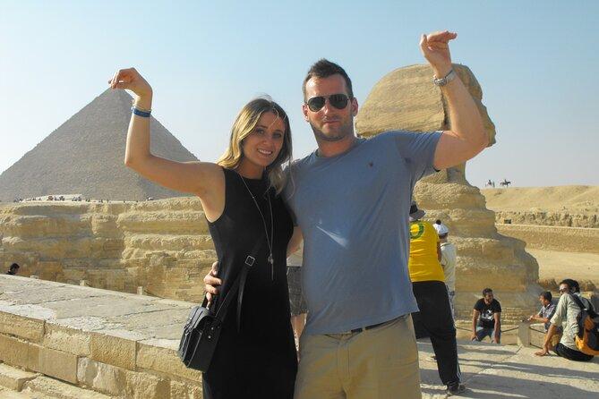 Giza Pyramids, Sphinx & Chephren Temple Half Day Private Trip