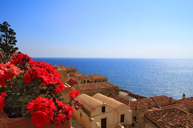 Full-Day Tour to the Romantic City of Monemvasia from Athens