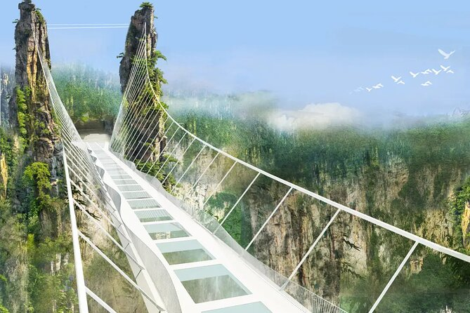 The Grand Canyon and Glass Bridge of Zhangjiajie Admission Pass