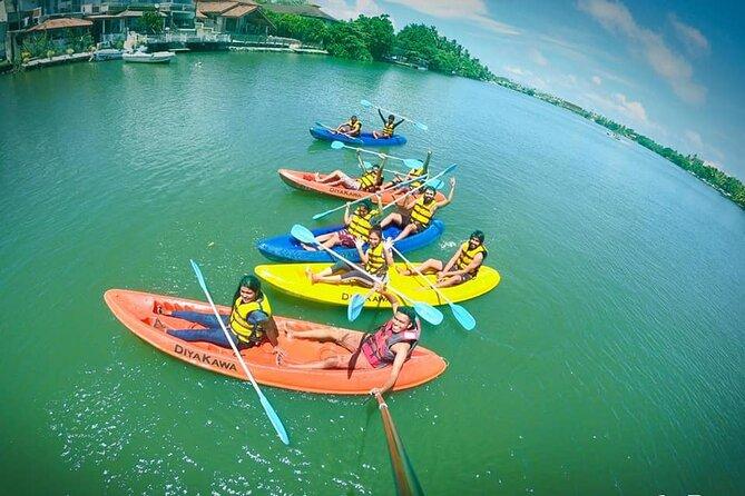 Lagoon Fishing / Sofa Ride/ / Canoeing at Bentota Sri Lanka