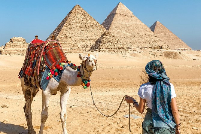 Full Day Tour To Giza Pyramids, Great Sphinx, Sakkara & Memphis