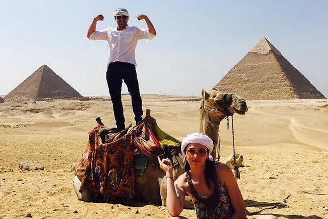 Cairo: Giza Pyramids , Sphinx Guided Tour with Quad Bike Safari & Camel Ride