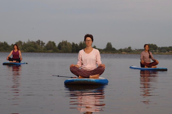Private Yoga Stand Up Paddle Experience in Reeuwijk