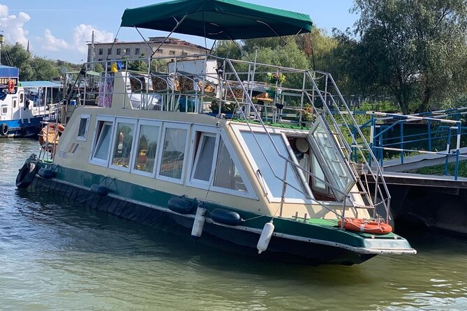 Private day tour on the Danube Delta, departure from Tulcea port.