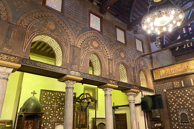 Egyptian Museum, Citadel and Old Cairo Tour with guide